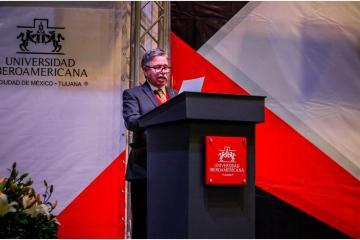 Rector de IBERO CDMX-Tijuana rindió su cuarto informe de trabajo