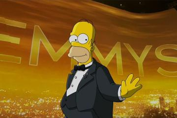 Homero Simpson anima los Emmy´s
