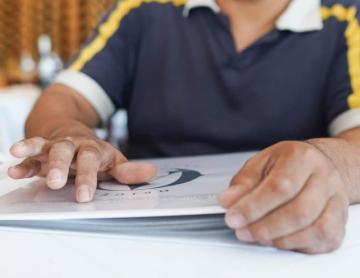 Restaurante en Tijuana tiene el primer menú transcritoen Braille...