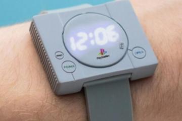 La nostalgia hará que compres este reloj de Playstation