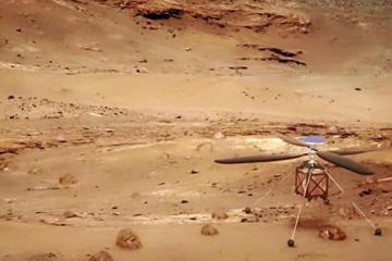 Detectan sonidos extraños en el interior de Marte
