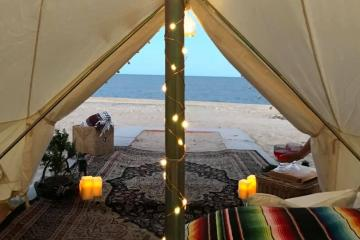 Beach, camping and glamour at San Felipe