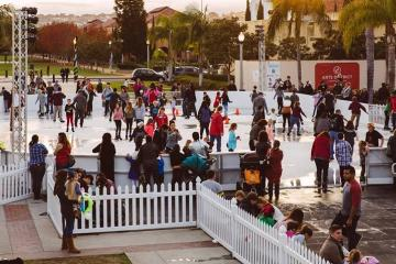 The Rady Childrens ice rink opens at San Diego in November
