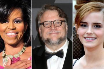 Desde Michelle Obama hasta Emma Watson y Guillermo del Toro en...