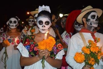 Tijuana celebra el Día de los Muertos con festival