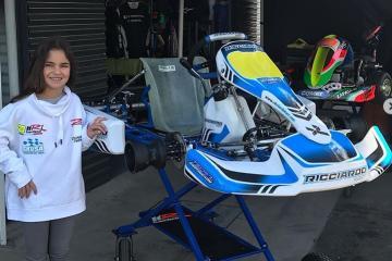 La primera mexicana que corre en Le Mans tiene 11 años