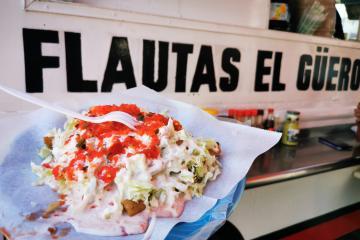 """Flautas """"El Güero"""" represent a half a century tradition of..."""