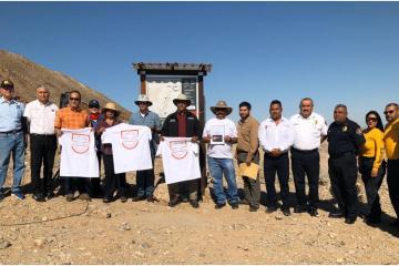 SECTURE inauguró el sendero del cerro El Centinela