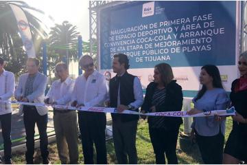 Playas de Tijuana tiene nueva área deportiva y de convivencia...