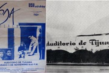 Hace 31 años Soda Stereo tocó en Tijuana