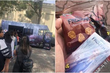 Camión de Frozen reparte magia en calles de San Diego