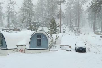 Nieve podría llegar a Sierra de San Pedro Mártir