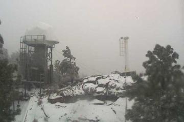 Sierra de San Pedro Mártir is covered in snow!