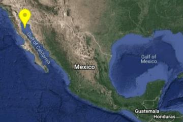 Sismo de 4.8 sacude esta mañana a Baja California