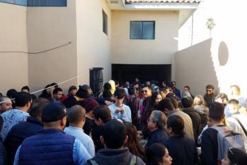 Se manifiestan en oficinas de Badabun por despidos a más de 150...