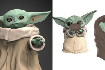 Juguetes de Baby Yoda llegarán en el 2020