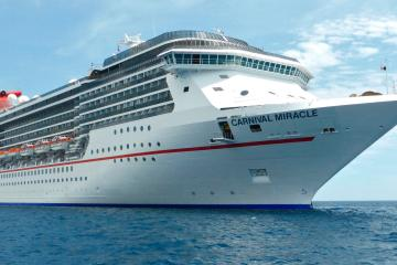 Carnival Miracle is back to San Diego with new departures