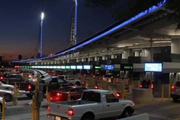 New lanes for the San Ysidro customs border!