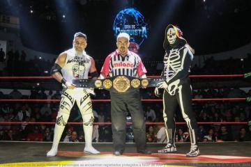 Fallece famoso luchador mexicano La Parka
