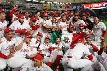 México entre los 5 mejores equipos de béisbol del mundo
