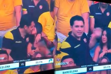 Se descubre infidelidad gracias a Kiss Cam en partido de fútbol