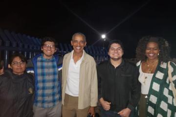 Barack y Michelle Obama de vacaciones en Loreto, Baja California Sur