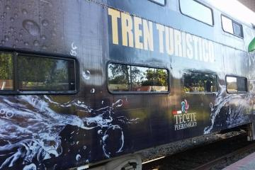 Súbete al tren turístico del amor de Tijuana-Tecate