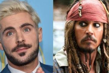 ¿Te imaginas a Zac Efron como Jack Sparrow? Disney sí