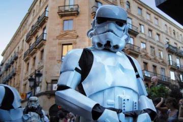 Preparan mega desfile de Star Wars en México