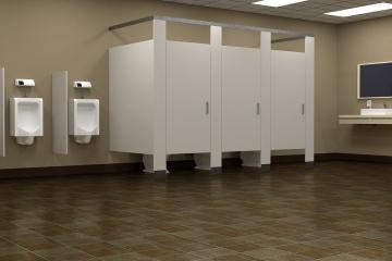 Descubre por qué las puertas de los baños públicos no llegan al...
