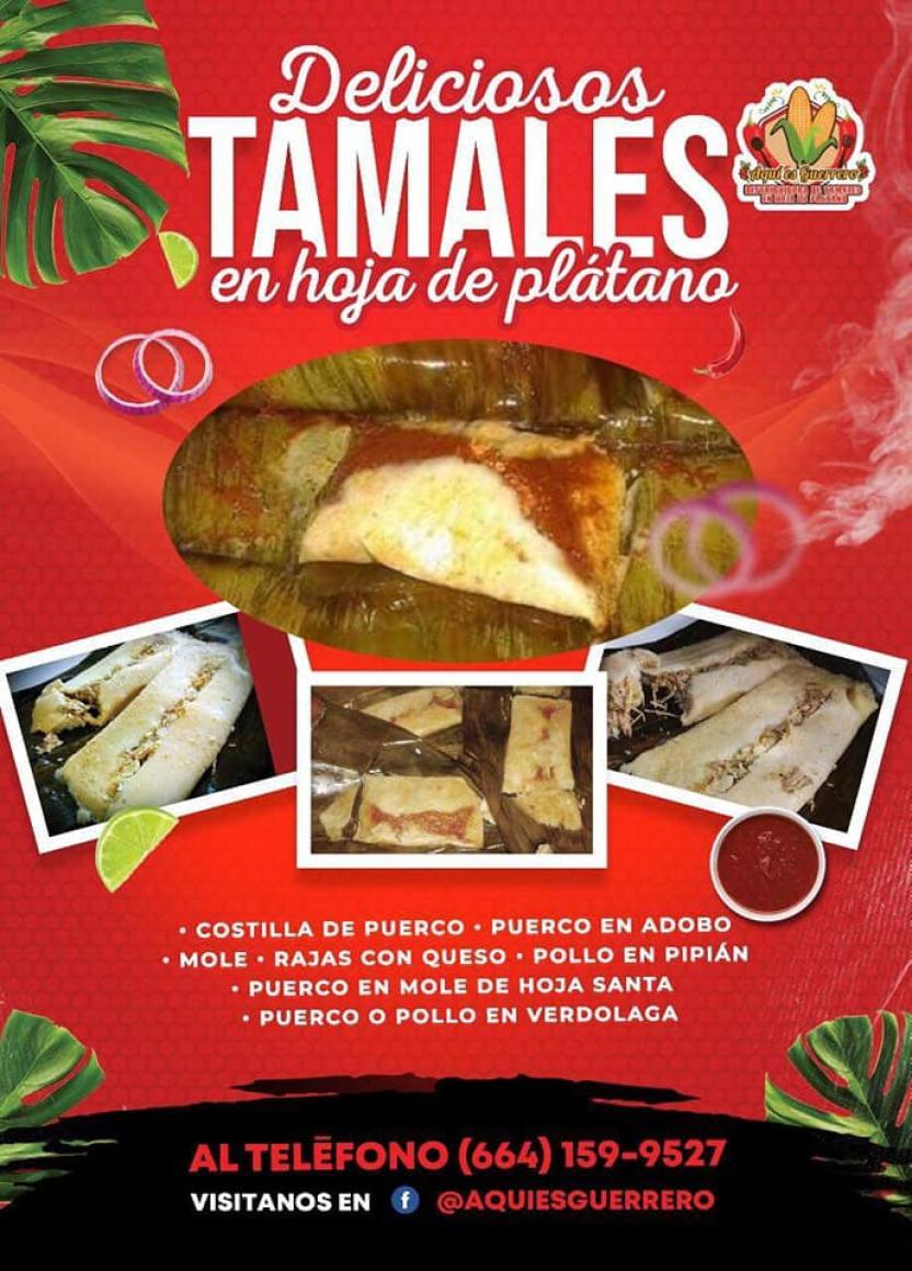 Facebook Tamales Aquí es Guerrero