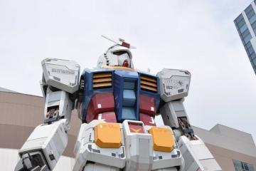 Robot gigante invadirá los Juegos Olímpicos en Tokio 2020