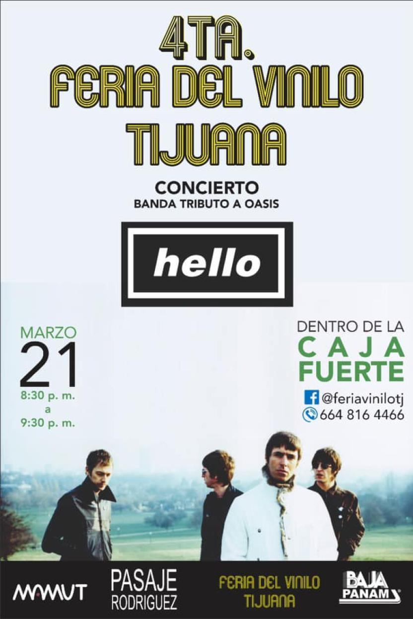 Facebook Feria del Vinilo Tijuana