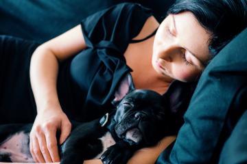 Dormir con tu perro disminuye el estrés