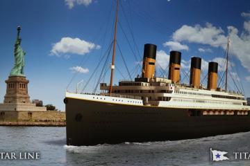 Viajar en El Titanic será posible en 2022