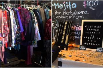 Encuentra artículos y ropa con estilo vintage en este bazar de...