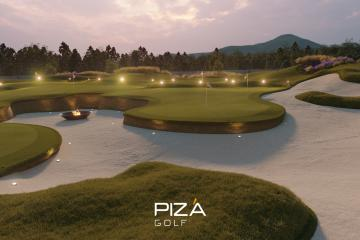 Pizá Creates Unique Golf Practice Area for Private Client...