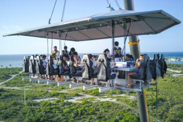 Ensenada disfrutará sabores de altura en Dinner in the Sky