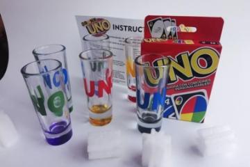 ¿Sabías que existe el famoso UNO...pero de shots?