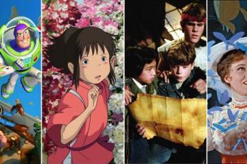 Maratón de películas ideal para niños  en esta suspensión de...