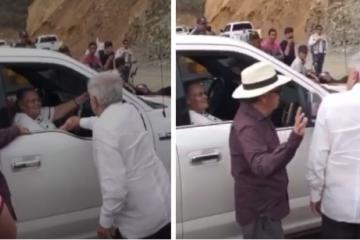 Medios internacionales critican a AMLO por saludar a la mamá del...