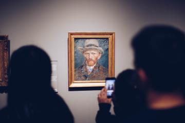 Roban obra de Vincent van Gogh de museo cerrado por coronavirus