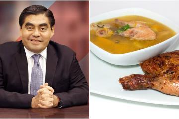 Gobernador de Puebla recomienda que enfermos de Covid-19 coman...