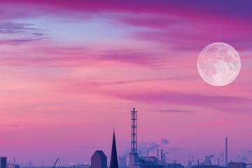 Asómbrate este 7 de abril con la superluna más grande del 2020