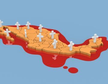 Violencia aumenta durante la crisis del coronavirus en México