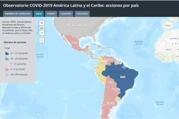 Mapa interactivo de la ONU te informa de la situación actual sobre...