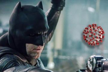 Batman llega a las calles de México para enfrentar al coronavirus