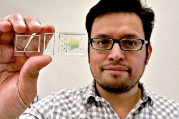 Mexicano crea chip para detectar coronavirus