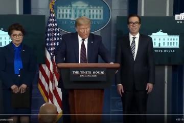 Donald Trump menciona que las próximas semanas serán las más...