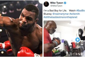 Sorprende video de Mike Tyson entrenando a sus 53 años